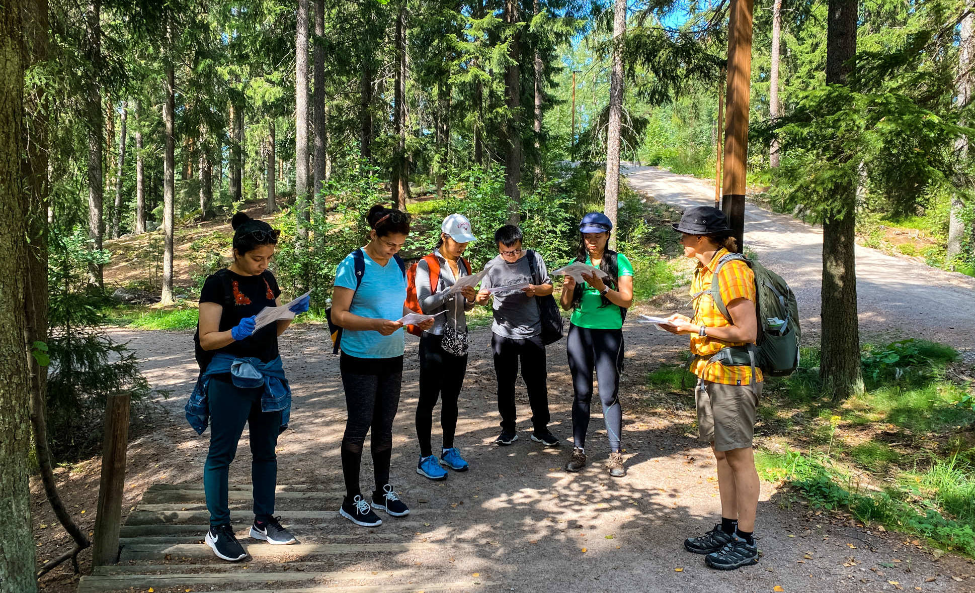 hiking course beginners